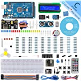 SunFounder Mega 2560 R3 Project Super Starter Kit para Arduino UNO R3 Mega2560 Mega328 Nano, 25 tutoriales incluidos