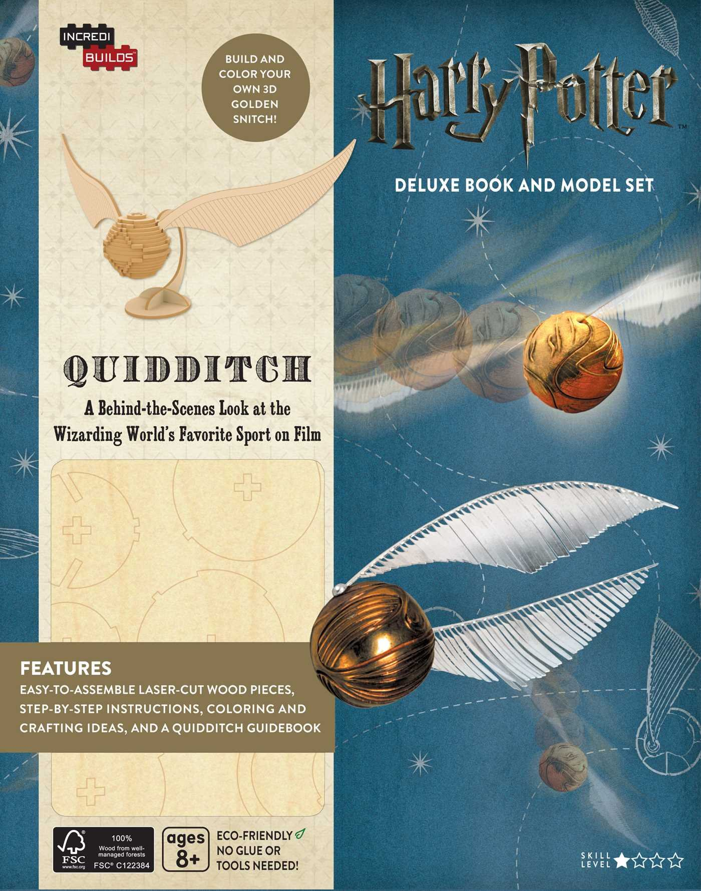 IncrediBuilds Harry Potter Quidditch Deluxe product image