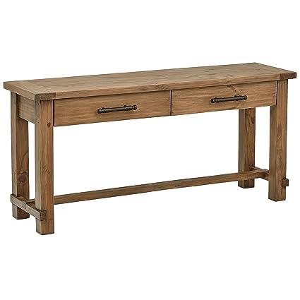 Charmant Stone U0026 Beam Ferndale Rustic Console Table, 63u0026quot; W, Pine
