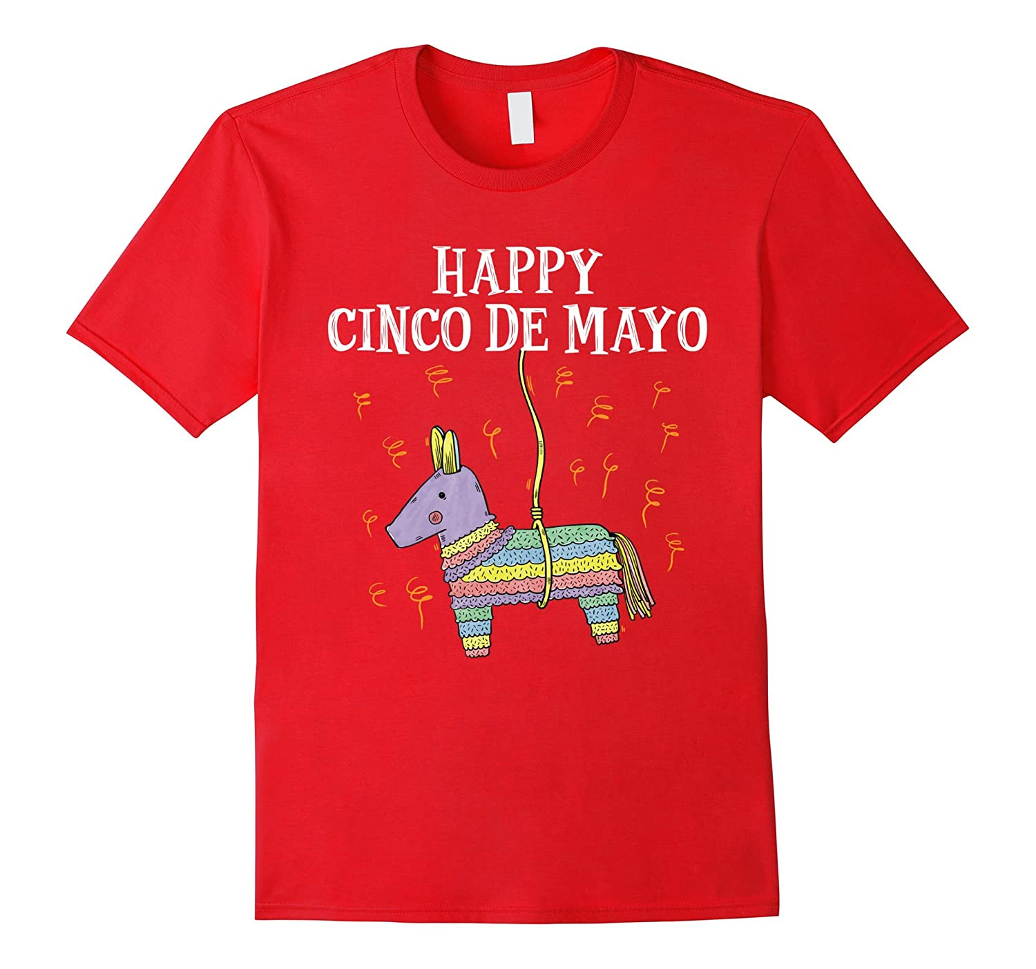 Amazon.com: Happy Cinco De Mayo T-Shirts - Kids Mexican Pinata Party Tee: Clothing