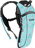 Sojourner Rave Hydration Pack Backpack - 2L Water Bladder Included for Festivals, Raves, Hiking, Biking, Climbing, Running and More (2 Pocket)