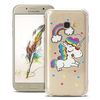 Anfire Funda para Samsung Galaxy A5 2017 Carcasa Flexible de ...