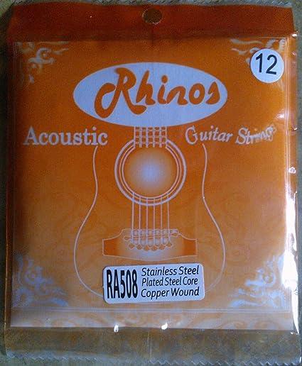 Traje 12 cuerdas para guitarra acústica calibre/.050 ra508l-12s ...