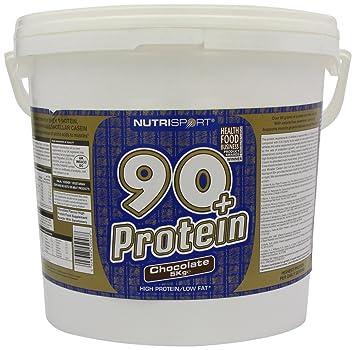 53f68f772 Nutrisport 90+ Protein 5Kg Chocolate  Amazon.es  Deportes y aire libre