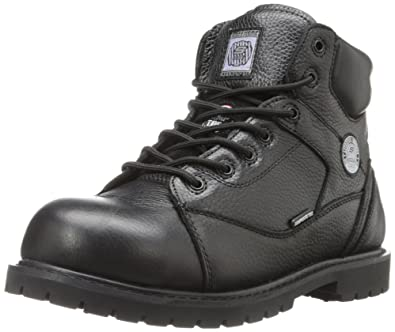 c96a3d898a507 Skechers for Work Women's Stedman Blaylock Slip Resistant Work Boot,Black,7.5  ...