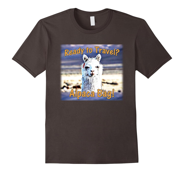 alpaca bag funny llama love travel t shirt cl colamaga. Black Bedroom Furniture Sets. Home Design Ideas