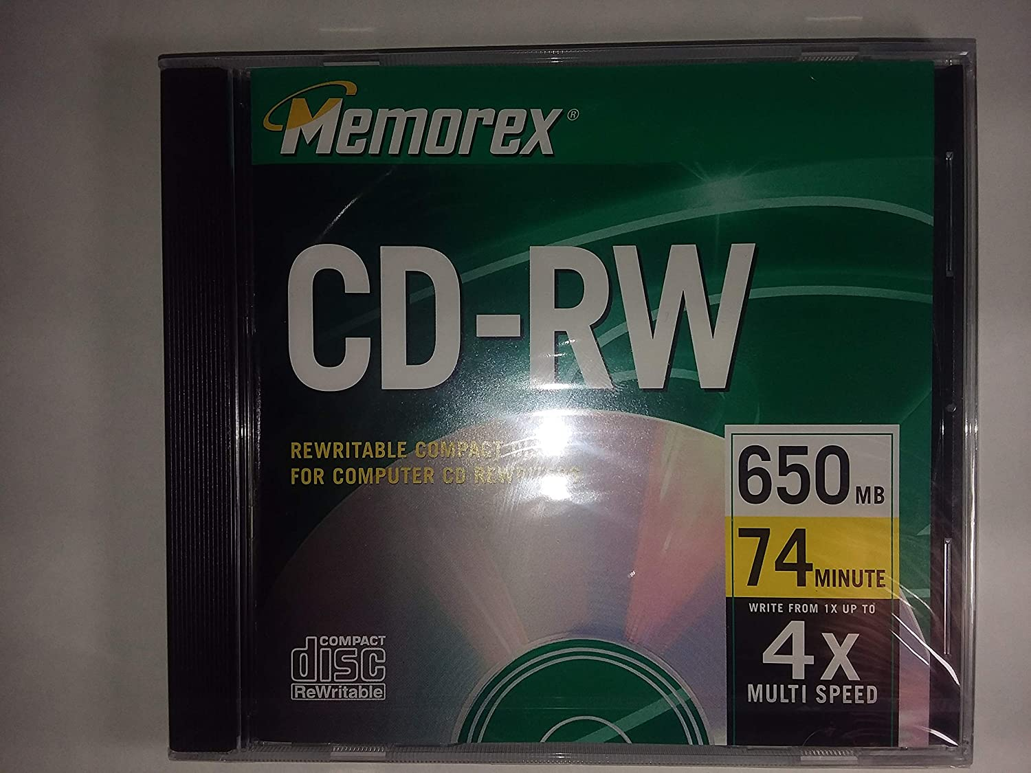 Memorex 650MB/74-Minute 4x Music CD-RW Media LYSB00000JKKZ-CMPTRACCS