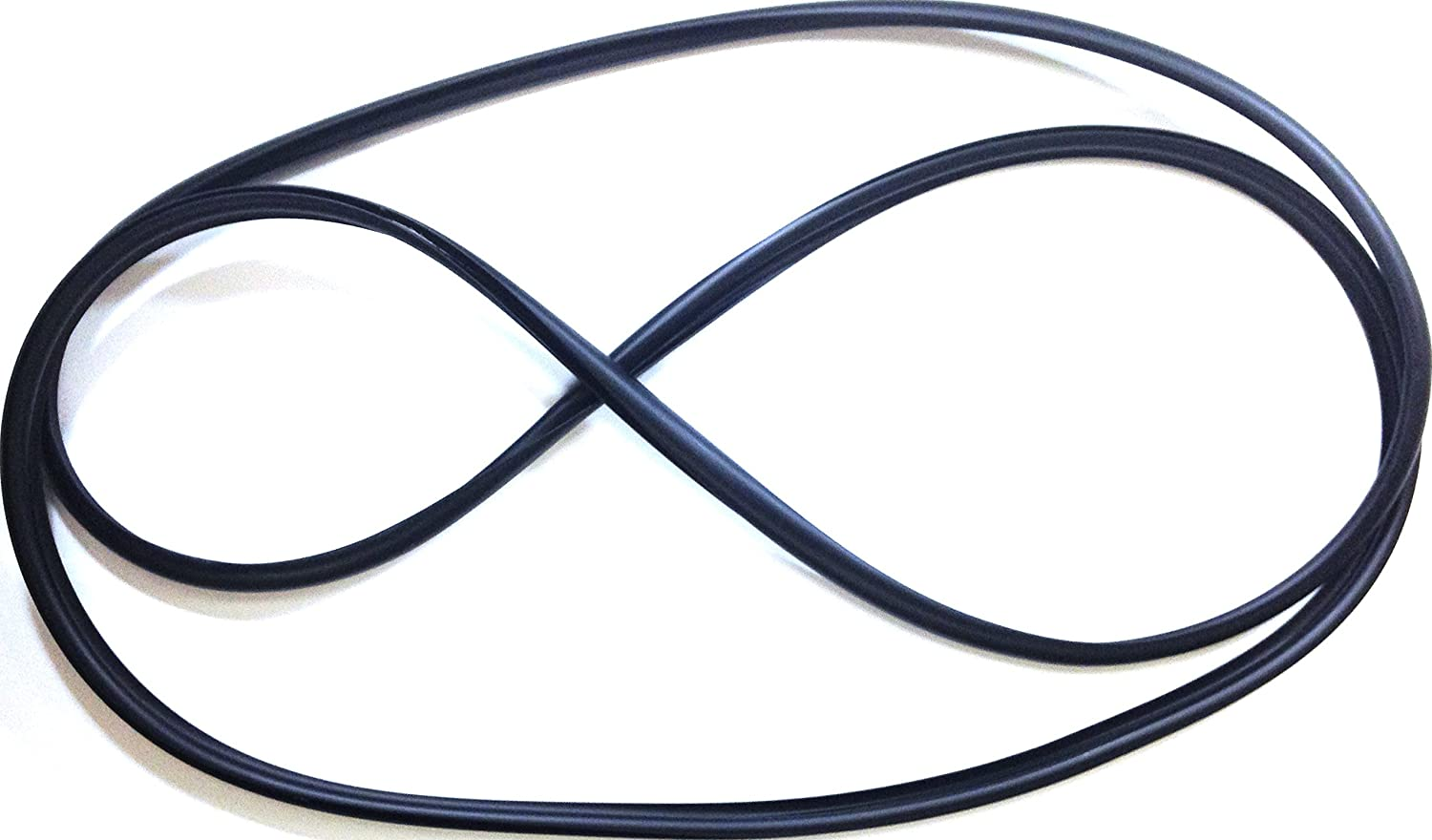 APDTY 140332 Hardtop Quarter Glass Rubber Weatherstrip Seal Fits Left or Right