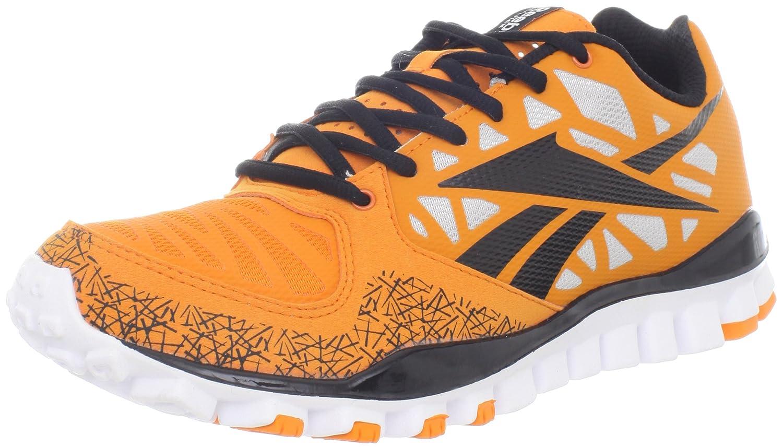 Reebok Men's Realflex Transition 2.0 Cross-Training Shoe B007OSFQ14 7.5 D(M) US|Orange/Black/Steel/White