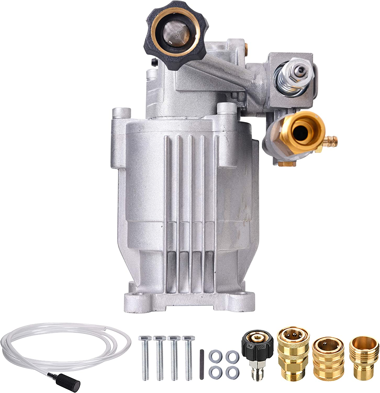 Tool Daily Pressure Washer Pump Replacement, Horizontal Pump for Cold Water Gas Power Washer, 2600-3000 PSI, 2.4 GPM
