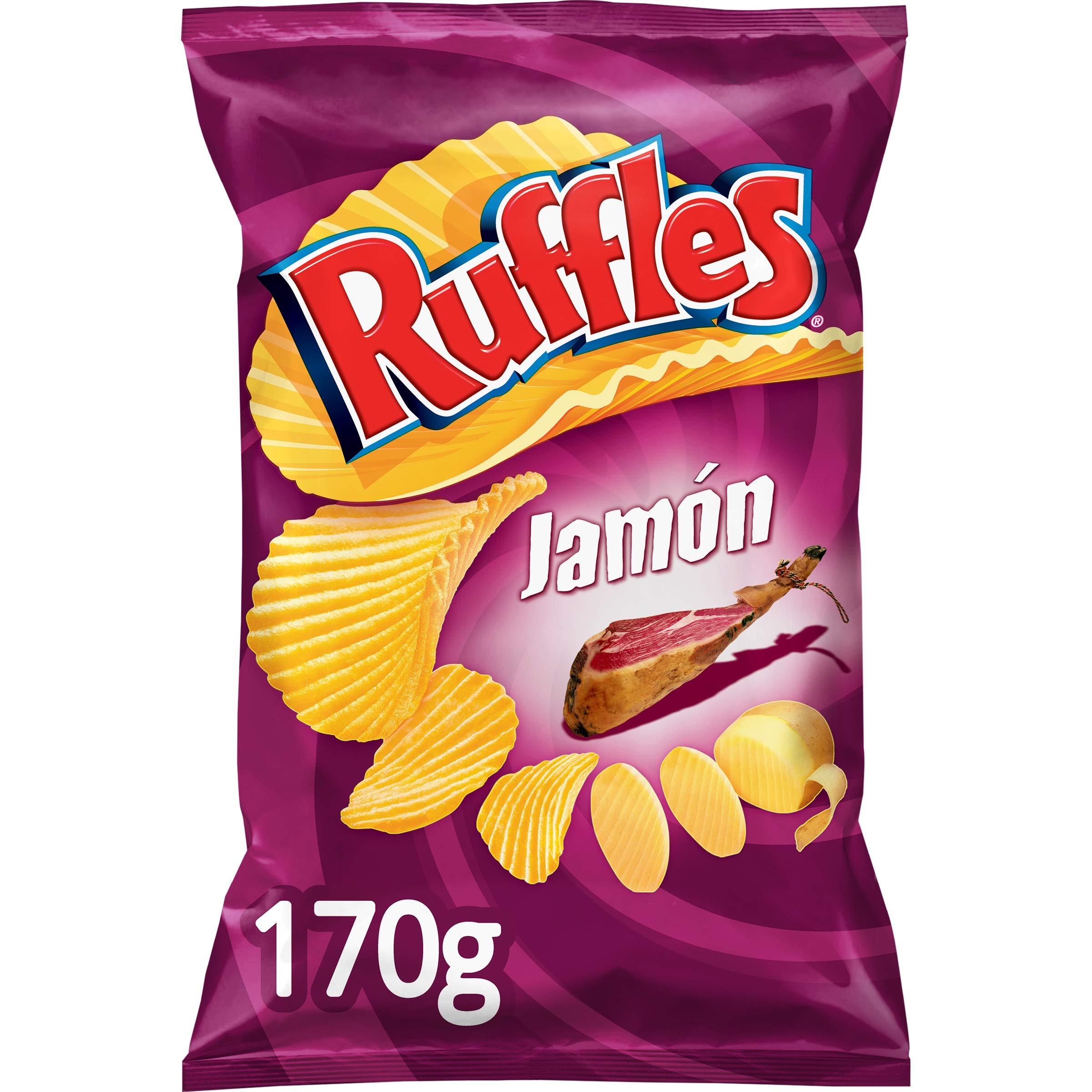 Ruffles jamon - crisps with Spanish ham flavour