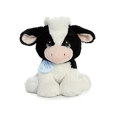 "Aurora - Precious Moments - 8.5"" Hezzy Cow: Toys & Games"