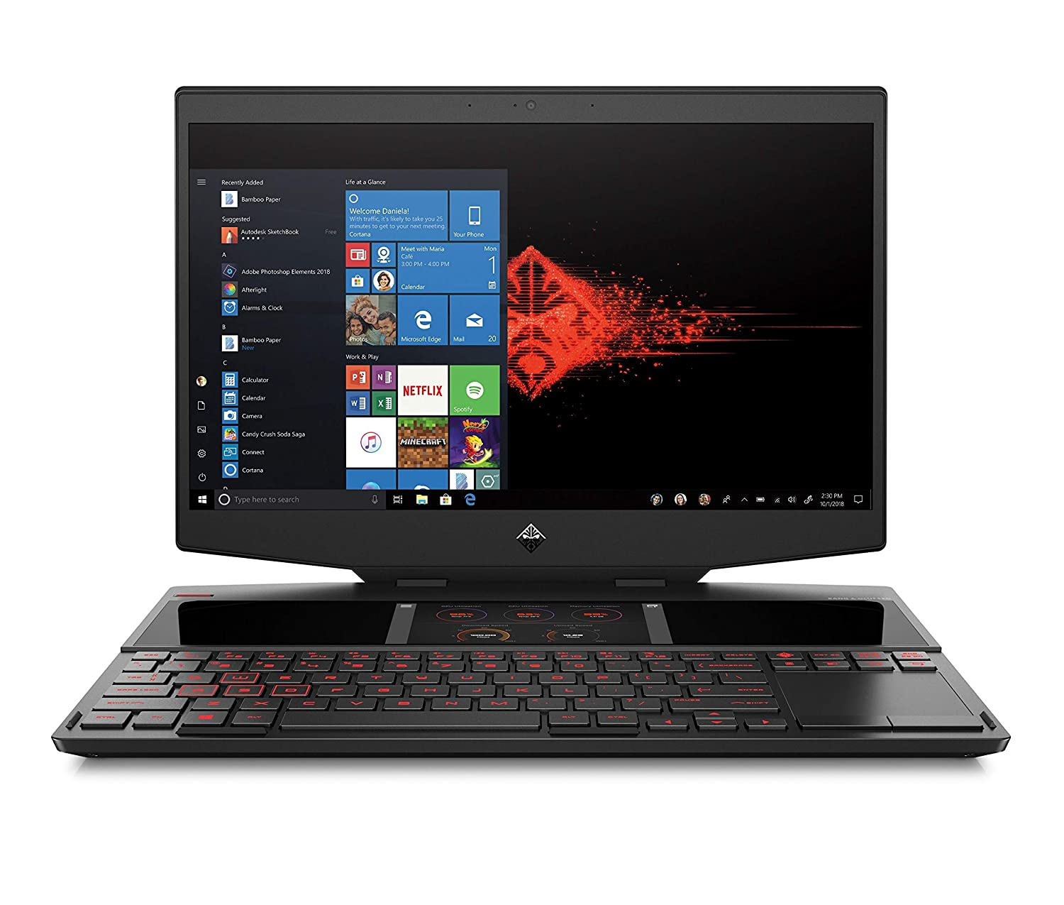 Amazon com: OMEN X 2S by HP 2019 15-inch Gaming Laptop with