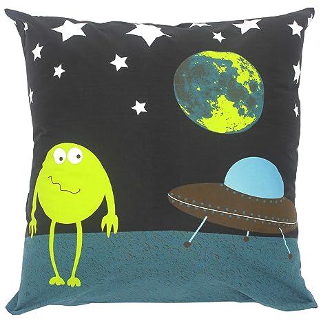 Funda de almohada de 65 x 65 cm, 100% algodón, diseño de ...