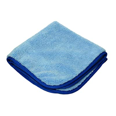 "Ultima Polishing & Buffing 16""x16"" Towel with Silk Trim: Automotive"