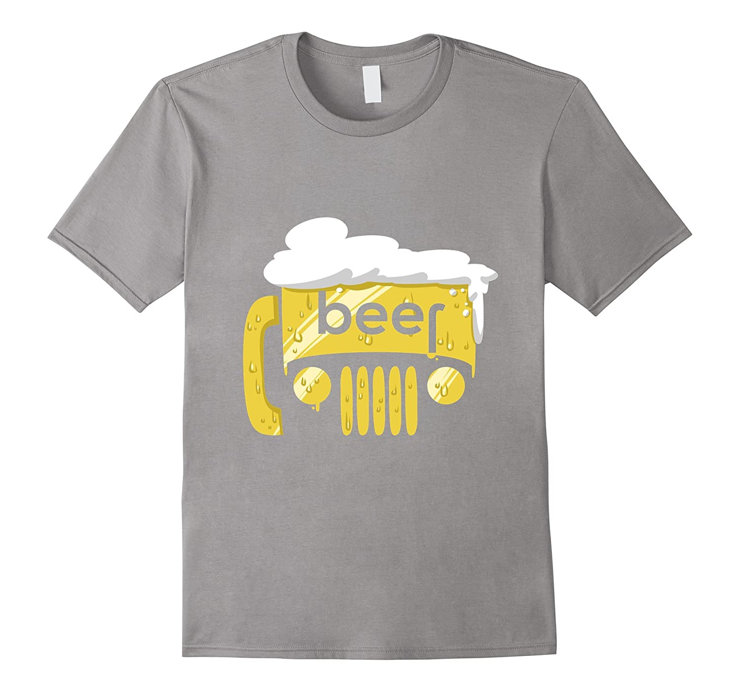 4 x 4 Love Off Road Drinking Beer T-shirt-CD