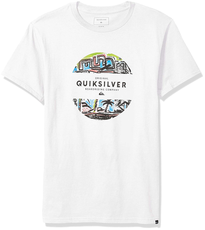 Quiksilver Mens Mixed Prints Tee