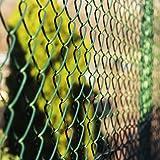 Clôture grillage casa pura® vert   tailles au choix   mailles 60x60mm   avec couche en PVC   résistant aux intempéries, 0,8x15m