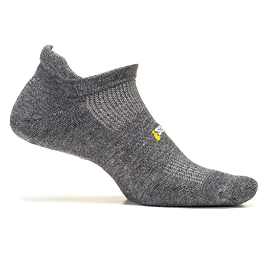 bc7f2dec021 Amazon.com   Feetures - High Performance Cushion - No Show Tab - Athletic  Running Socks for Men and Women   Clothing