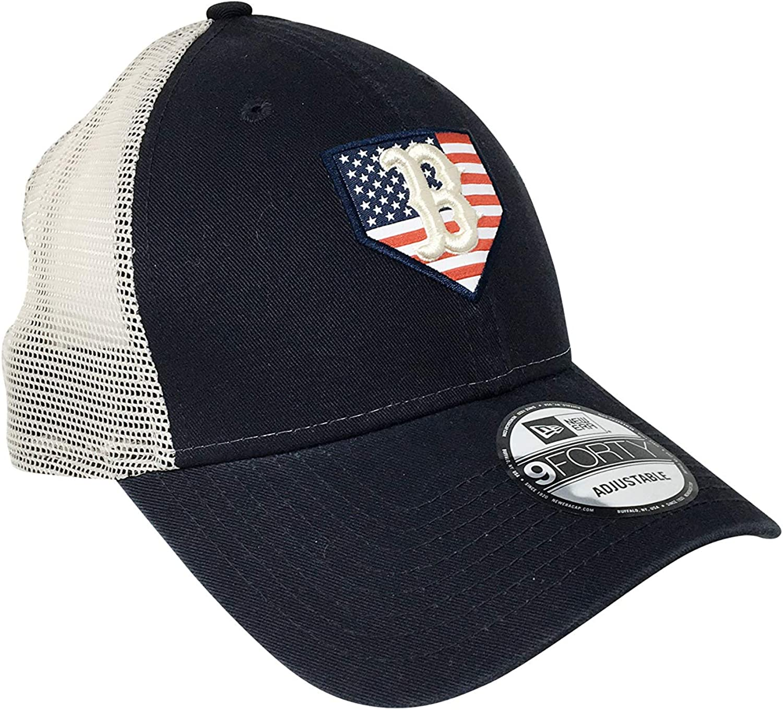 New Era Boston Red Sox 9Forty Adjustable Snapback Hat MLB Baseball Curve Bill Baseball Cap