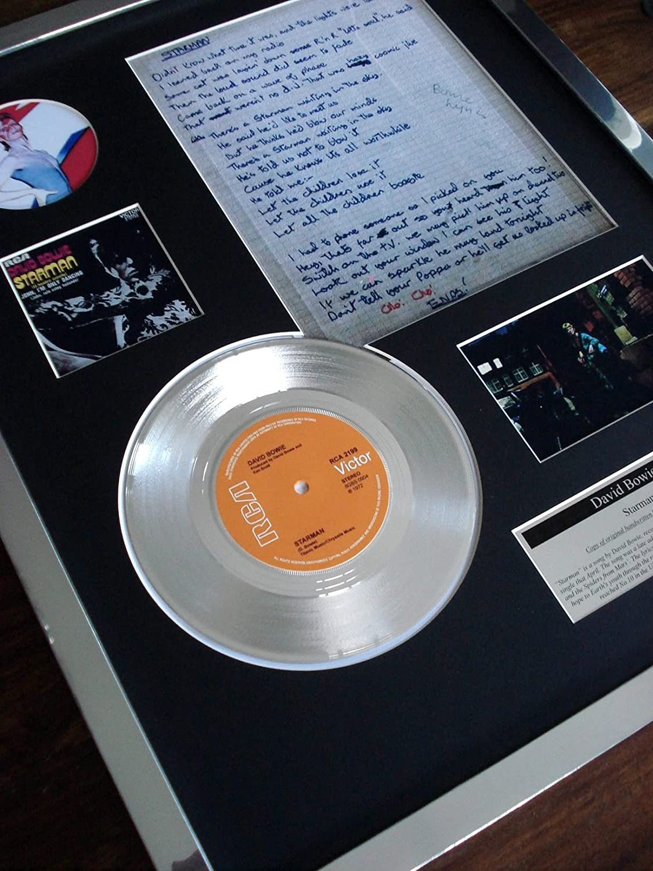 DAVID BOWIE STARMAN PLATINUM DISC 7