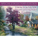 Thomas Kinkade Special Collector's Edition with Scripture 2017 Deluxe Wall Calen