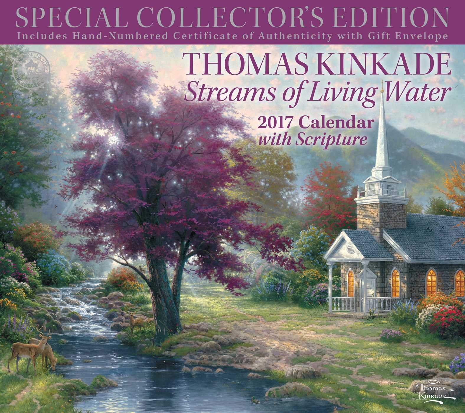 Thomas Kinkade Special Collectors Scripture