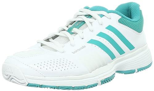 sports shoes 34711 4df6c adidas Adipower Barricade W v23755 Zapatillas de Tenis Blanco Amazon.es  Zapatos y complementos
