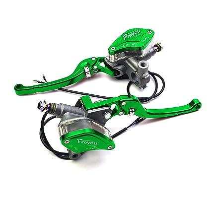 Nueva 125 cc a 400 cc motocicleta cilindro hidráulico Freno ...