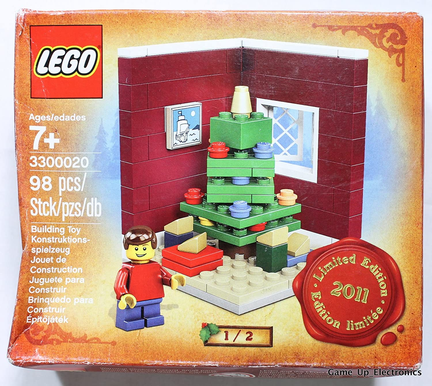 Lego LIMITED EDITION Building Toy 3300020 Christmas Tree 2011
