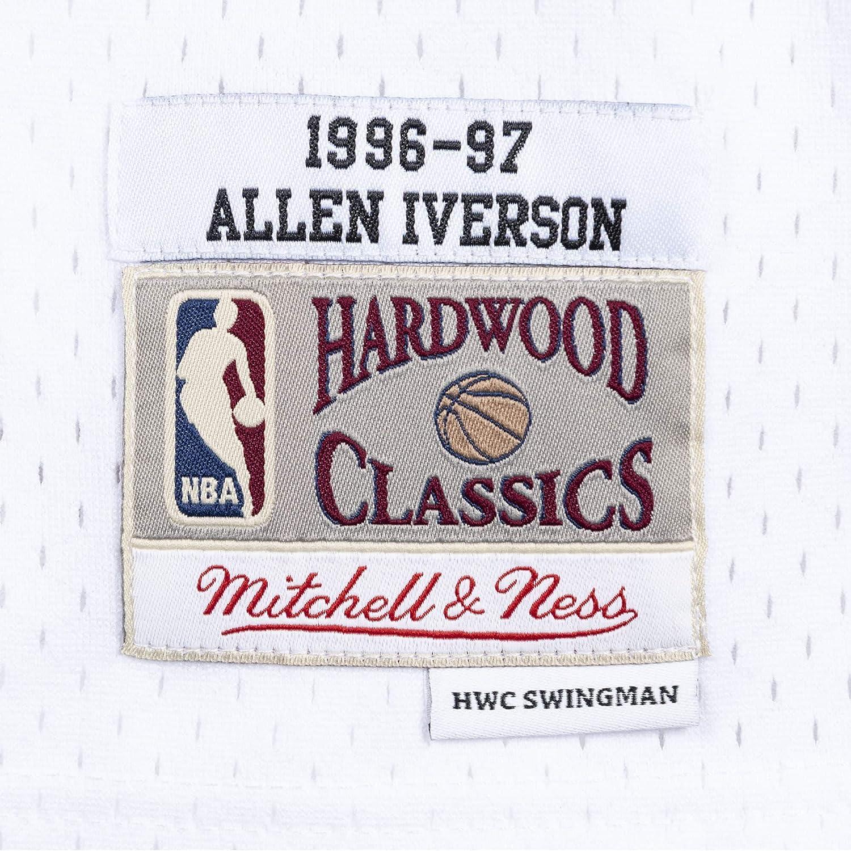 Mitchell/&Ness M/&N Maglia retr/ò da Uomo Swingman NBA con Adesivo da 7kmh
