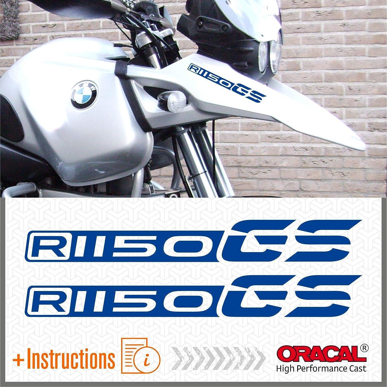 Black 2pcs Aufkleber kompatibel f/ür Motorrad R1150 GS BMW Motorrad R 1150 r1150gs