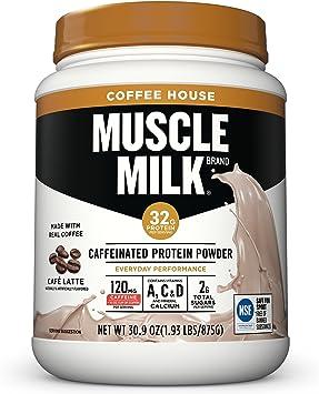 Amazon.com: Muscle Milk Coffee House en polvo de proteína ...