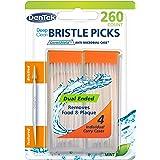 DenTek Deep Clean Bristle Picks Dual Ended, Mint 260-Count