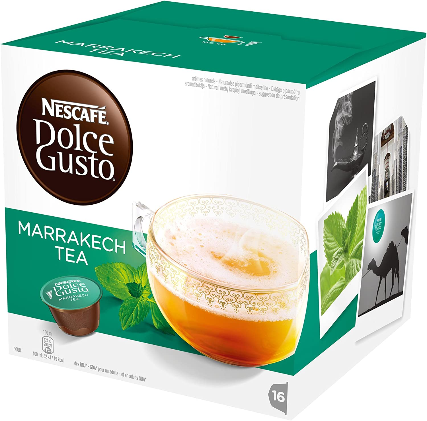 N/a - Nescafe dolce gusto marrakesh style tea (pack of 3) by na ...