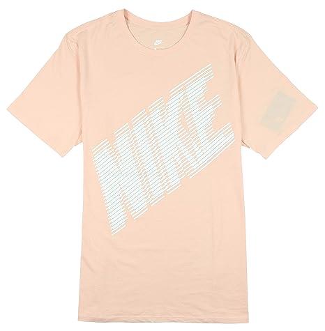 940639870 Amazon.com: Nike Men's Block Logo T-Shirt X-Large Light Pink: Sports ...