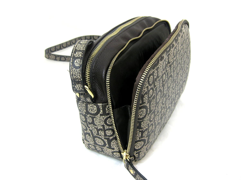26beb39c78 borsa tracolla piccola rb roccobarocco vienna taupe 23x16x8: Amazon.it:  Scarpe e borse