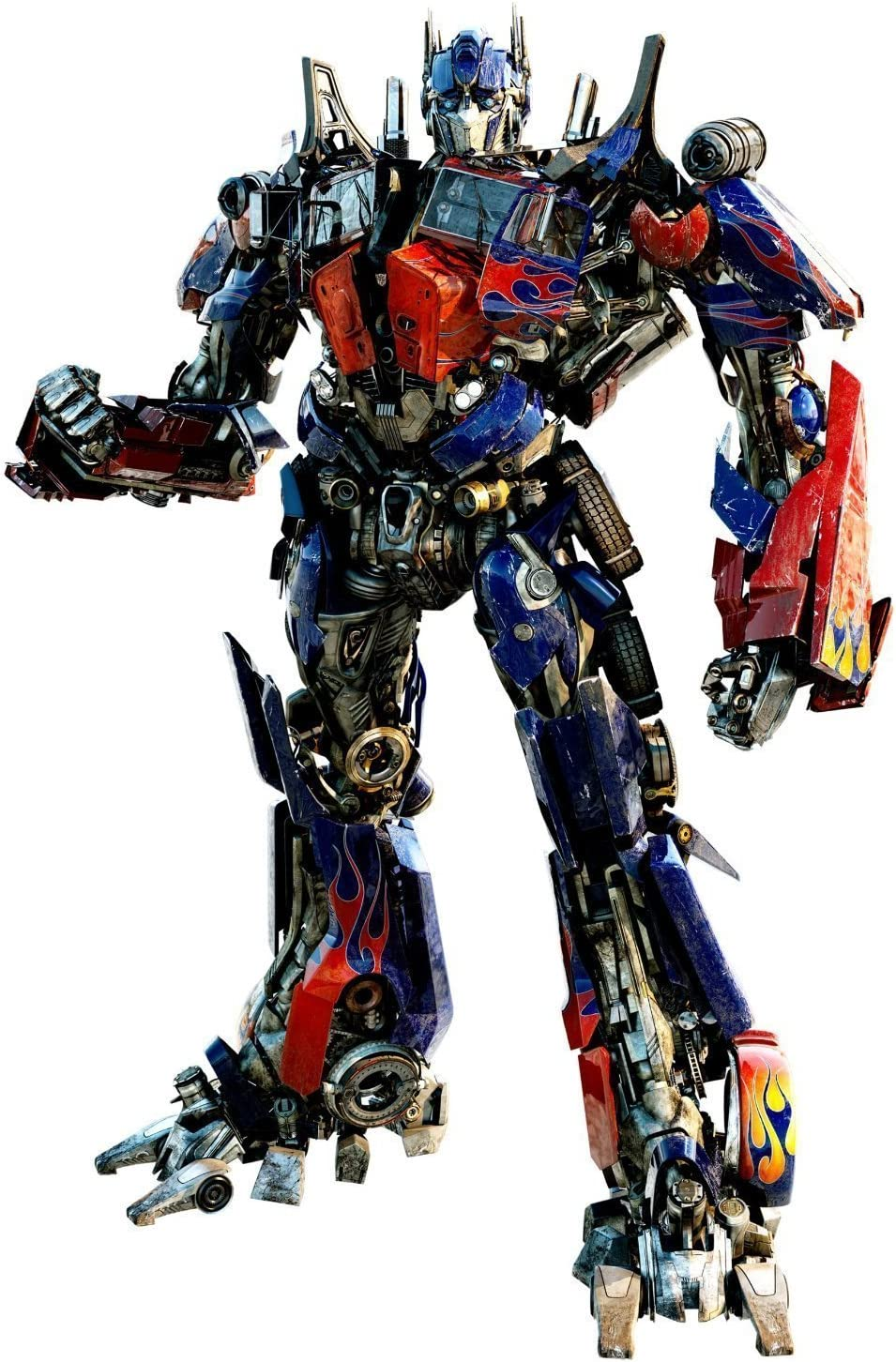 Transformer Wall Decal - Optimus Prime - Giant Wall Sticker Decor Party Decoration (Optimus Prime Giant)