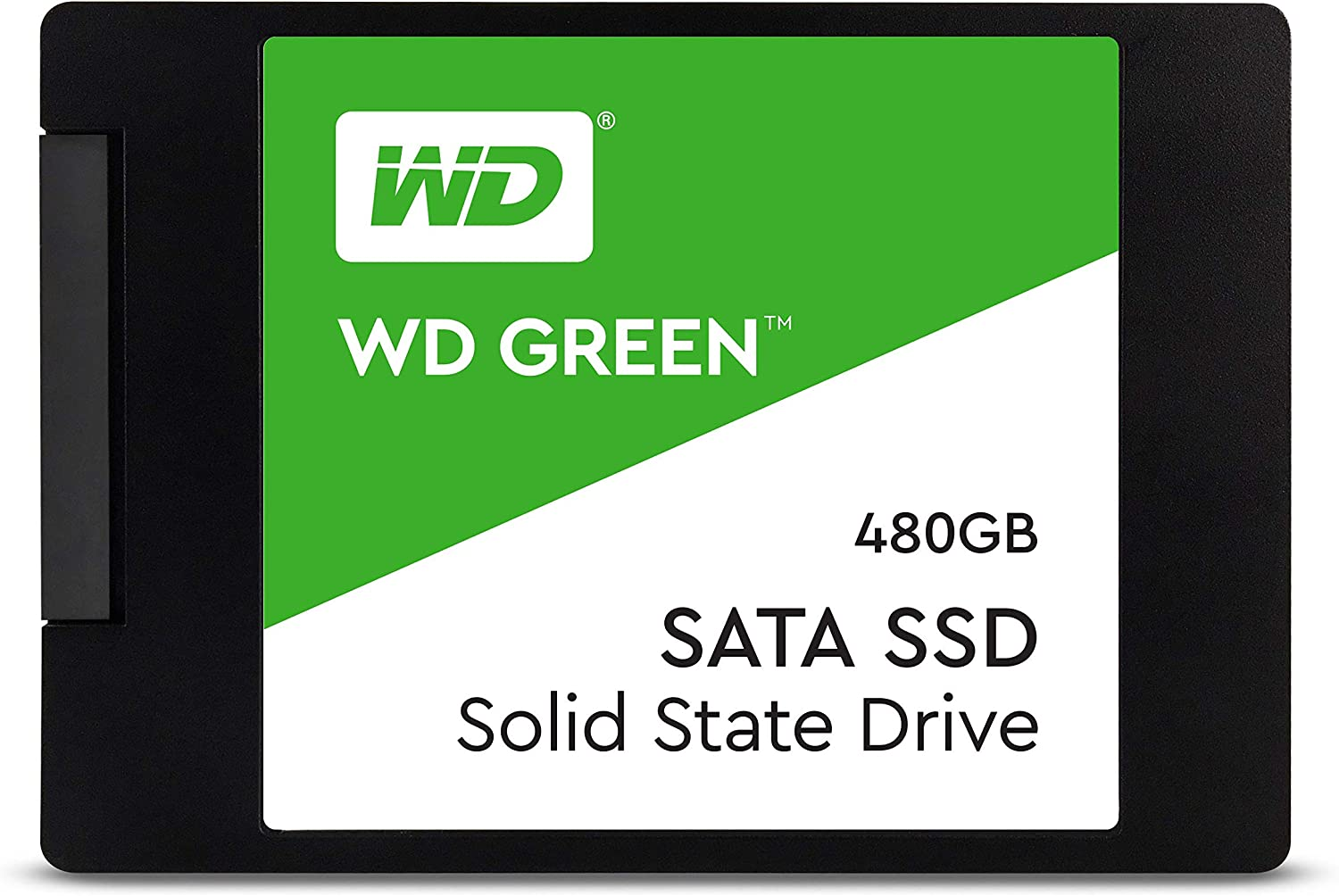 "WD Green 480GB Internal PC SSD - SATA III 6 Gb/s, 2.5""/7mm - WDS480G2G0A"