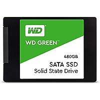 """WD Green 480GB 2.5"""" SSD, WDS480G2G0A"""