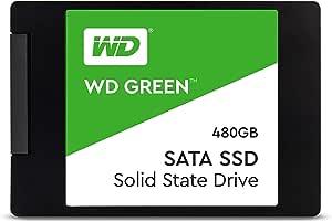 """WD Green 480GB Internal PC SSD - SATA III 6 Gb/s, 2.5""""/7mm - WDS480G2G0A"""