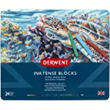 Derwent Inktense Ink Blocks, 24 Count (2300443)