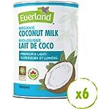 Everland Premium Organic Coconut Milk, 400g