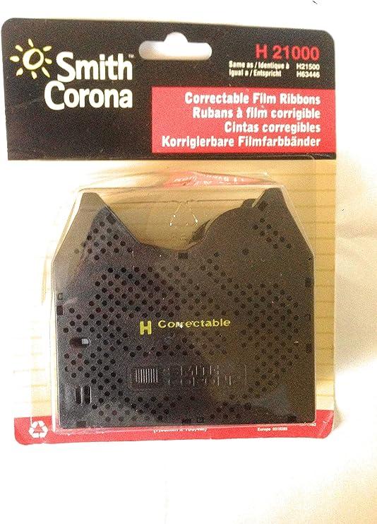 2 pack New Genuine Smith Corona H Series 21000 Correctable Typewriter Ribbon