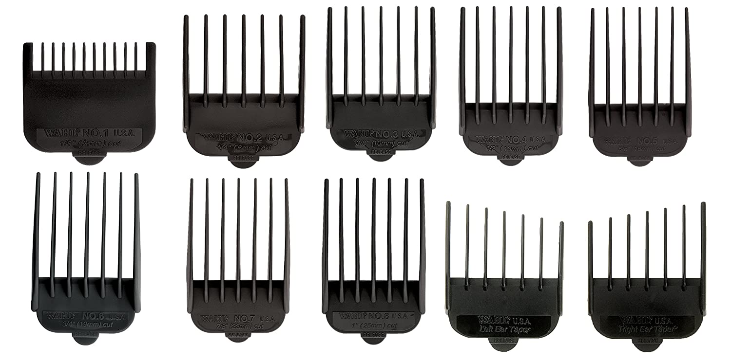 Wahlpro 3170-500 Black Cutting Guide 3173-500