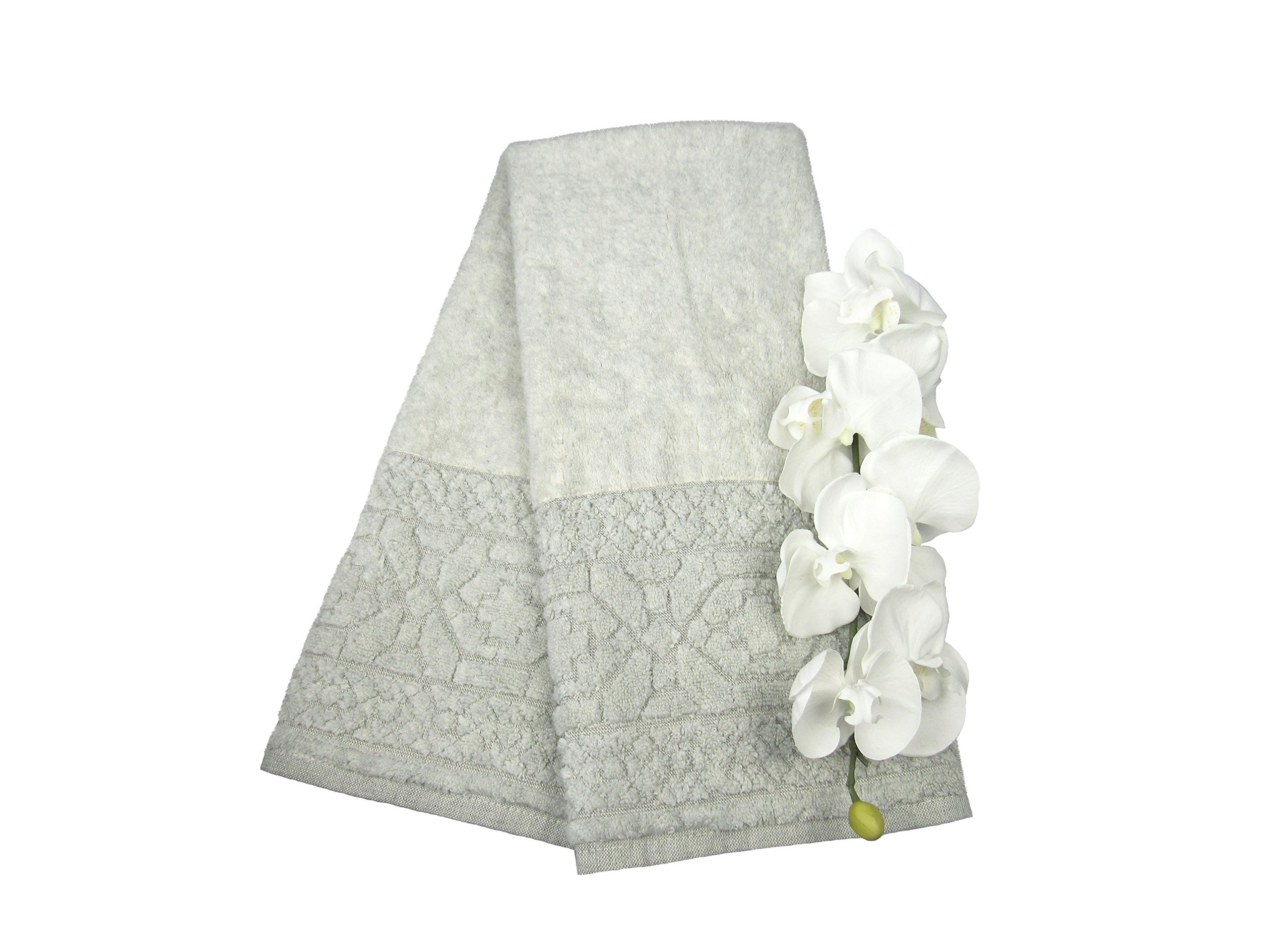 Tex Home Turkish Cotton Luxury Ottoman Spa Multi-Use Towel 2/Piece 36''x19''