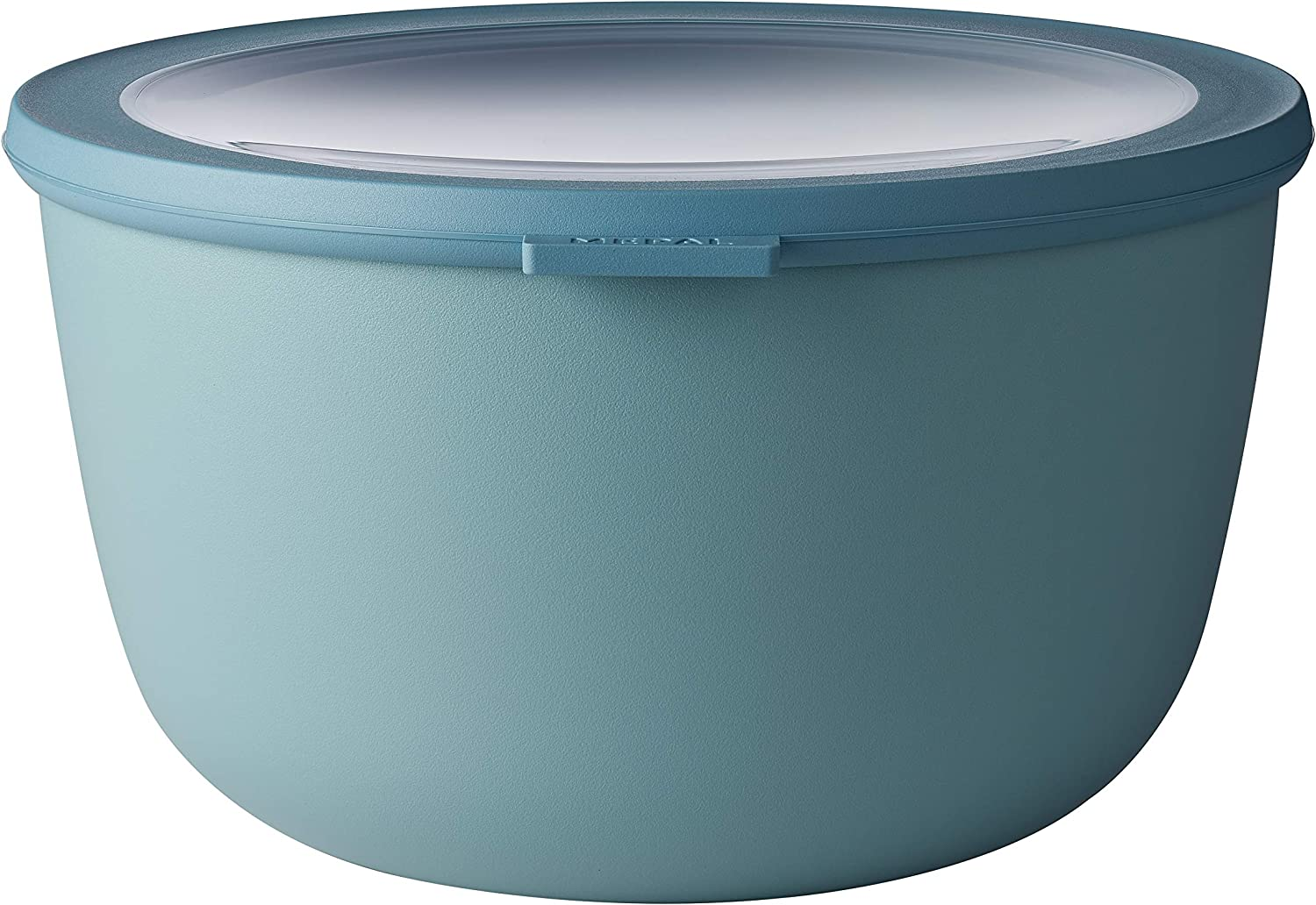 Rosti Mepal Cirqula Multi Food Storage and Serving Bowl with Lid, 3L/3.1Q, Nordic-Green