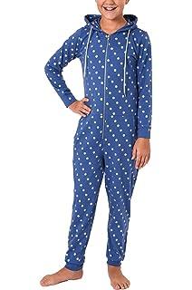 Sternenmotiv Gr/ö/ße:164 Farbe:rosa 271 467 97 002 Normann Copenhagen M/ädchen Jumpsuit Overall Schlafanzug Langarm