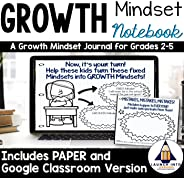 Growth Mindset Journal / Workbook for Grades 2-5 (Growth Mindset Journal, Workbook, Morning Work, Paper-version and Digital