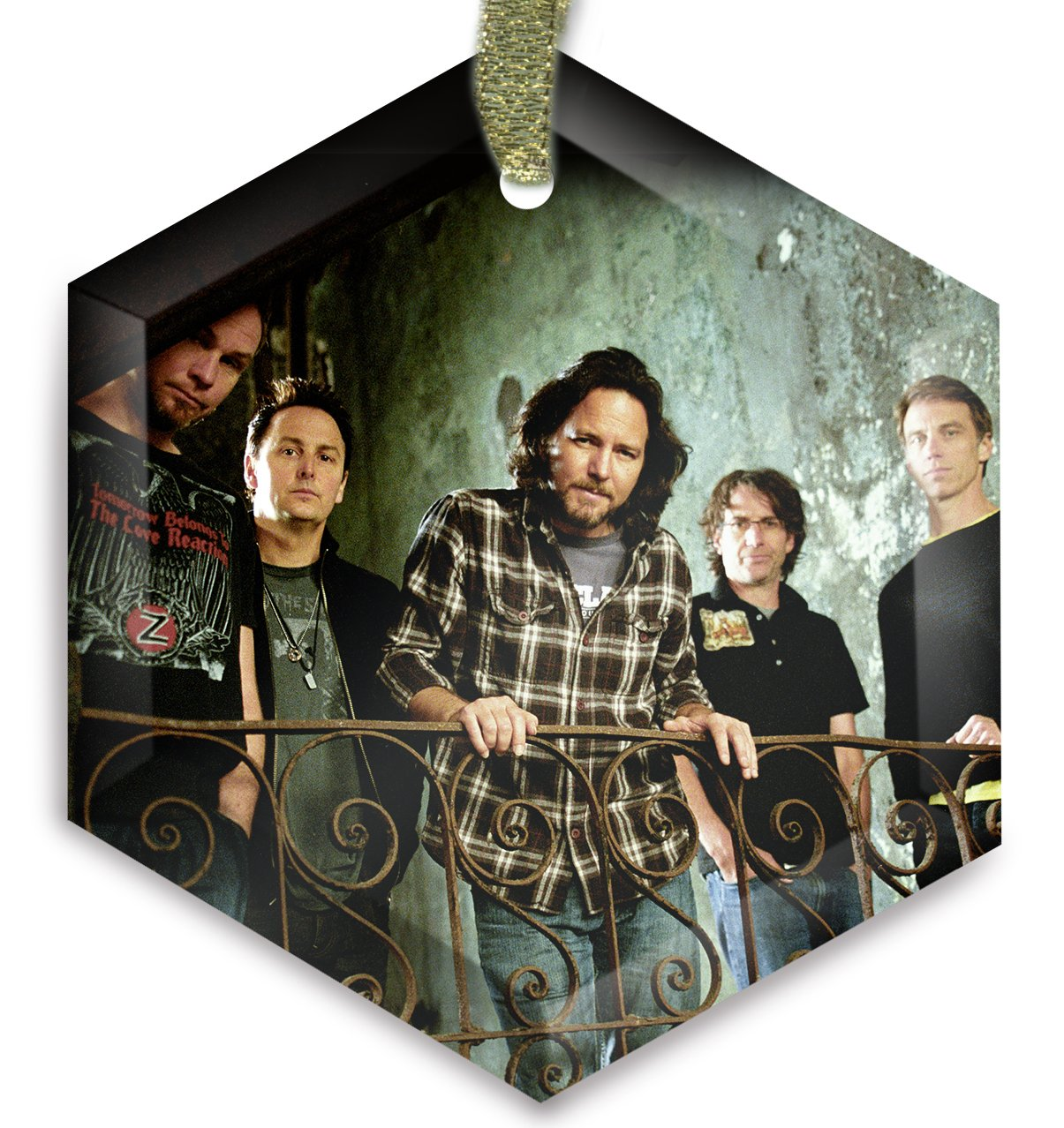 Pearl Jam v3 Cyrstal Christmas Ornament